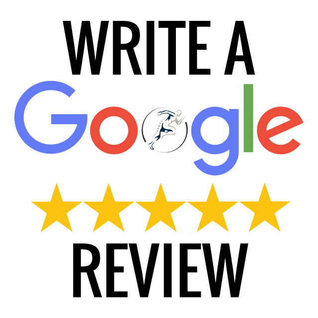 Picture asking for a google review when clicked.